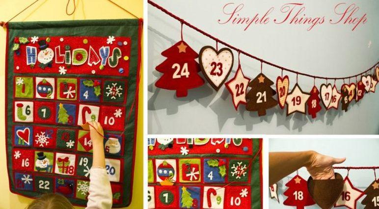 Адвент-календарь для детей к Новому году своими руками с шаблонами и заданиями, которые можно распечатать этап 75