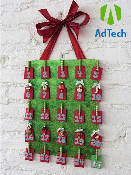 Адвент-календарь для детей к Новому году своими руками с шаблонами и заданиями, которые можно распечатать этап 76