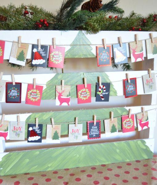 Адвент-календарь для детей к Новому году своими руками с шаблонами и заданиями, которые можно распечатать этап 77