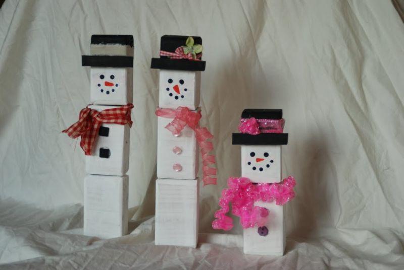 Снеговик своими руками на Новый год из подручных материалов этап 181