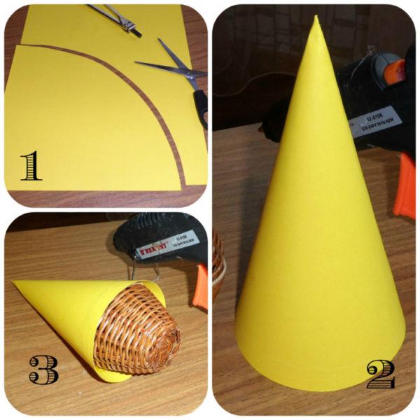 Объемная елка из бумаги — схемы и трафареты для создания елки своими руками этап 52