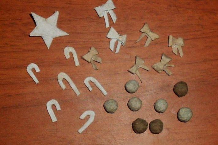 Игрушки на елку своими руками из подручных материалов к Новому году 2020 этап 7