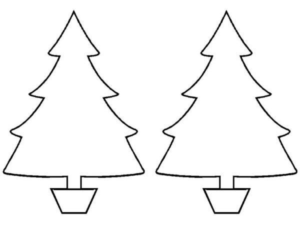 Объемная елка из бумаги — схемы и трафареты для создания елки своими руками этап 62