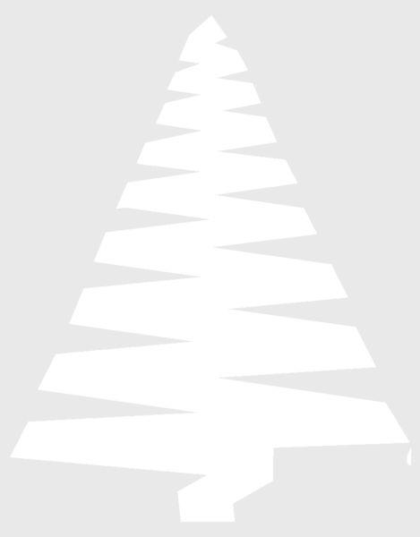 Объемная елка из бумаги — схемы и трафареты для создания елки своими руками этап 65