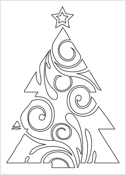 Объемная елка из бумаги — схемы и трафареты для создания елки своими руками этап 69