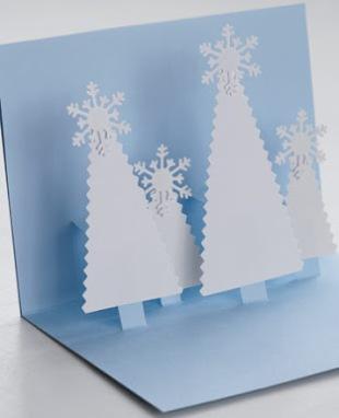 Новогодние открытки своими руками для детей: мастер-классы и шаблоны открыток на Новый год 2021 этап 28