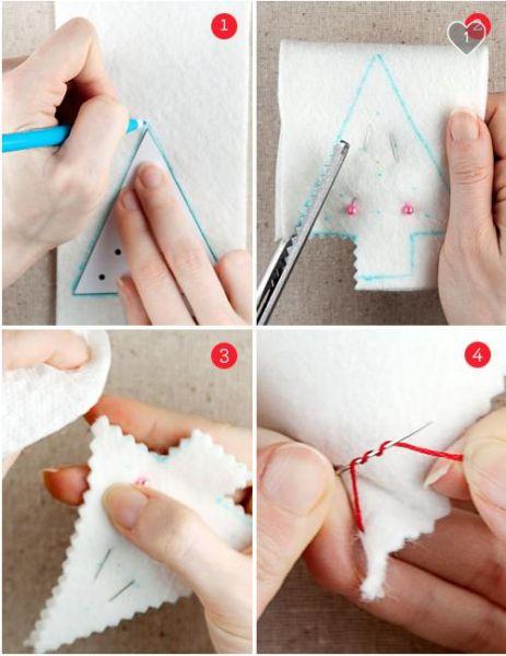 Игрушки из фетра своими руками — выкройки и шаблоны для начинающих этап 57