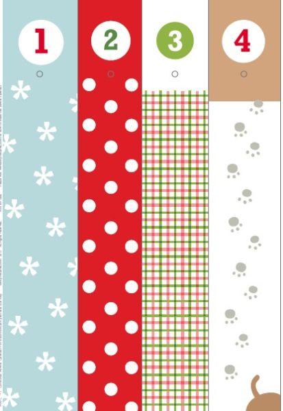 Адвент-календарь для детей к Новому году своими руками с шаблонами и заданиями, которые можно распечатать этап 50
