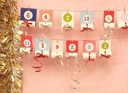 Адвент-календарь для детей к Новому году своими руками с шаблонами и заданиями, которые можно распечатать этап 49