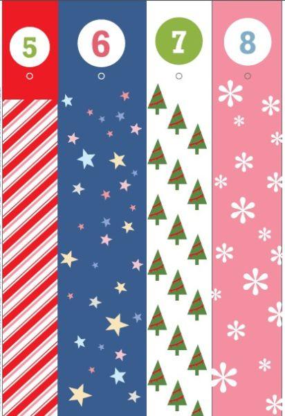 Адвент-календарь для детей к Новому году своими руками с шаблонами и заданиями, которые можно распечатать этап 51