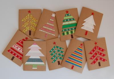 Новогодние открытки своими руками для детей: мастер-классы и шаблоны открыток на Новый год 2021 этап 54