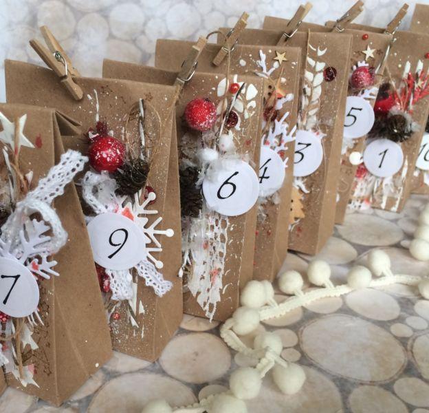 Адвент-календарь для детей к Новому году своими руками с шаблонами и заданиями, которые можно распечатать этап 26