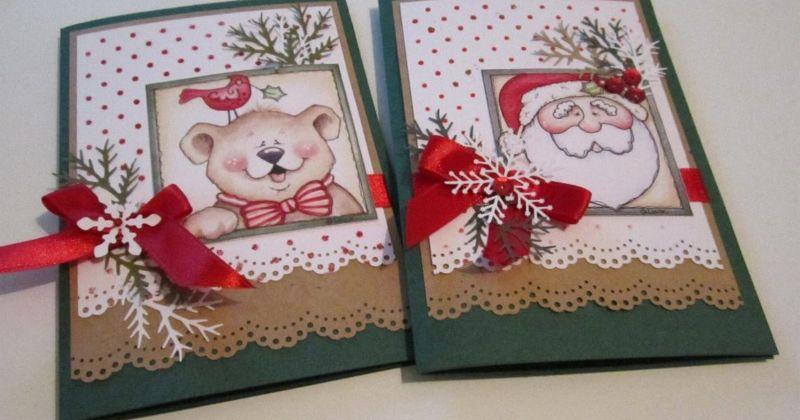 Новогодние открытки своими руками для детей: мастер-классы и шаблоны открыток на Новый год 2021 этап 131
