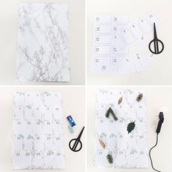 Адвент-календарь для детей к Новому году своими руками с шаблонами и заданиями, которые можно распечатать этап 4