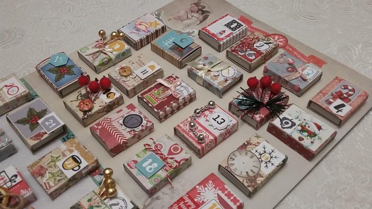 Адвент-календарь для детей к Новому году своими руками с шаблонами и заданиями, которые можно распечатать этап 14