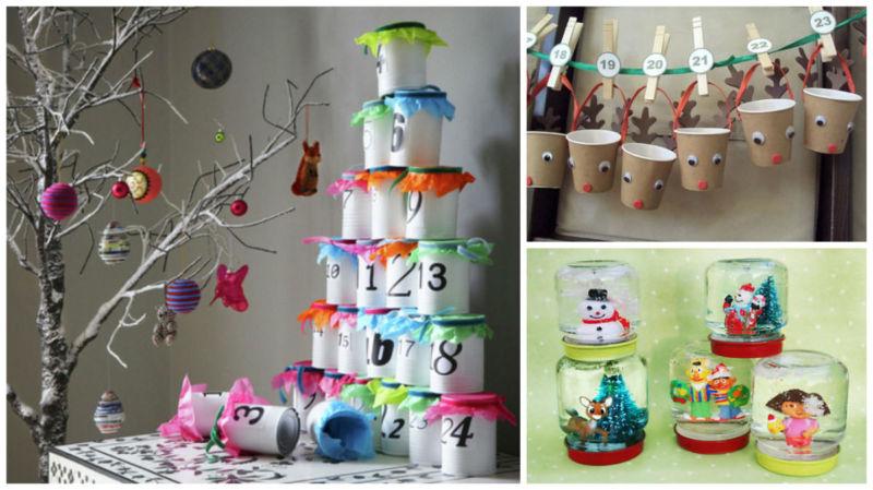 Адвент-календарь для детей к Новому году своими руками с шаблонами и заданиями, которые можно распечатать этап 29