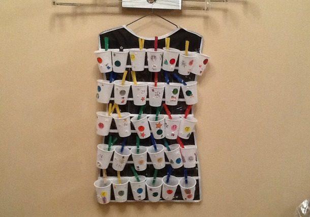 Адвент-календарь для детей к Новому году своими руками с шаблонами и заданиями, которые можно распечатать этап 7