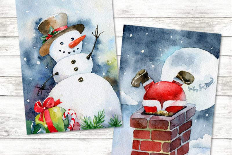 Новогодние открытки своими руками для детей: мастер-классы и шаблоны открыток на Новый год 2021 этап 147