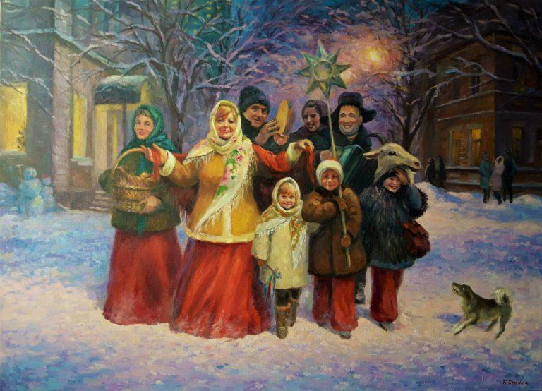Колядки на Рождество для детей. Подборка коротких и смешных рождественских колядок этап 3