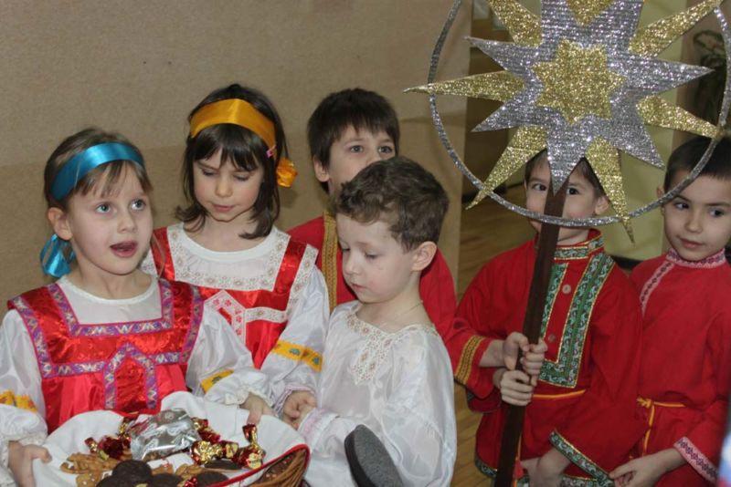 Колядки на Рождество для детей. Подборка коротких и смешных рождественских колядок этап 13