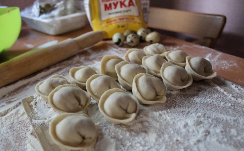 Тесто для домашних пельменей — 10 рецептов эластичного пельменного теста этап 10