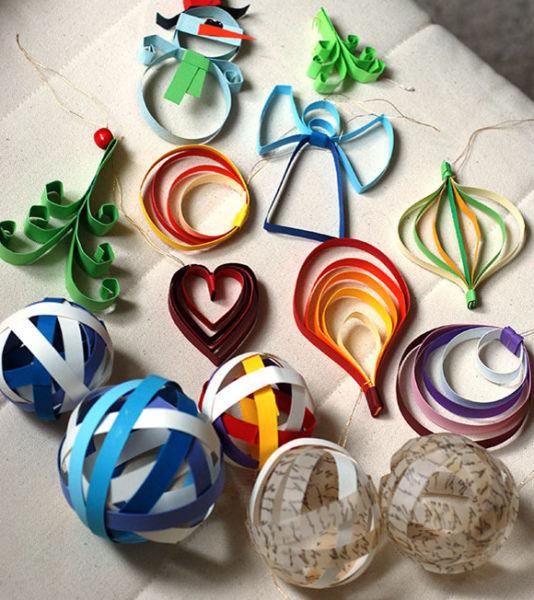 Игрушки на елку своими руками из подручных материалов к Новому году 2020 этап 45