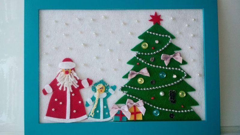 Новогодние открытки своими руками для детей: мастер-классы и шаблоны открыток на Новый год 2021 этап 162