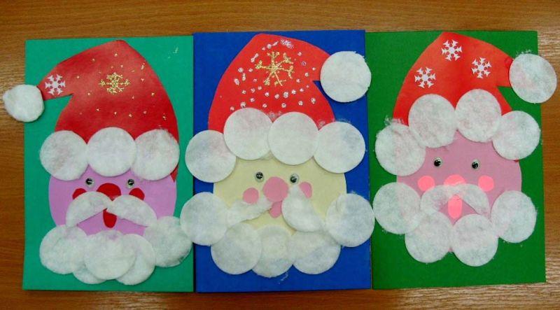 Новогодние открытки своими руками для детей: мастер-классы и шаблоны открыток на Новый год 2021 этап 152