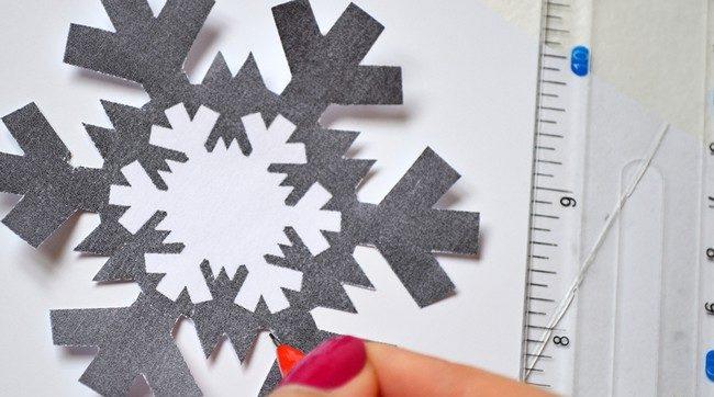 Новогодние открытки своими руками для детей: мастер-классы и шаблоны открыток на Новый год 2021 этап 73