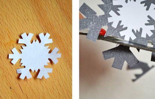 Новогодние открытки своими руками для детей: мастер-классы и шаблоны открыток на Новый год 2021 этап 75