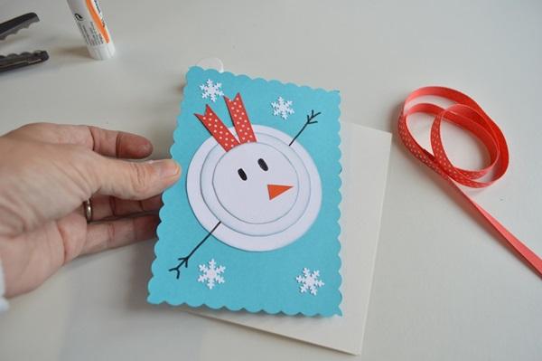 Новогодние открытки своими руками для детей: мастер-классы и шаблоны открыток на Новый год 2021 этап 2