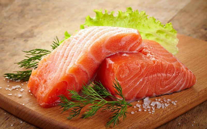Слабосоленая семга — 7 рецептов соления семги в домашних условиях этап 13
