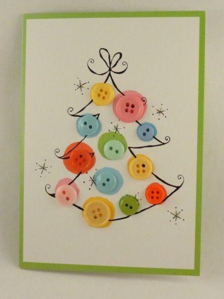 Новогодние открытки своими руками для детей: мастер-классы и шаблоны открыток на Новый год 2021 этап 142