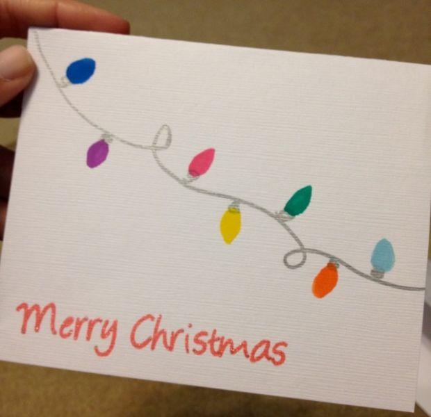 Новогодние открытки своими руками для детей: мастер-классы и шаблоны открыток на Новый год 2021 этап 132