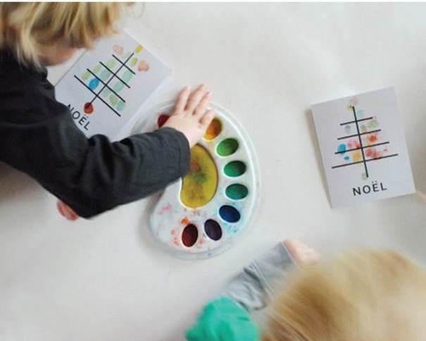 Новогодние открытки своими руками для детей: мастер-классы и шаблоны открыток на Новый год 2021 этап 138