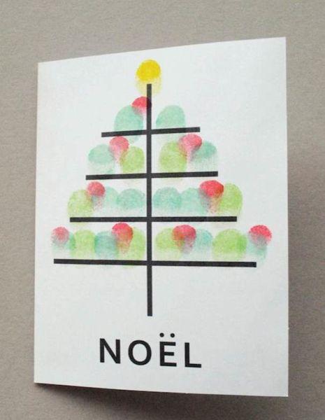 Новогодние открытки своими руками для детей: мастер-классы и шаблоны открыток на Новый год 2021 этап 136