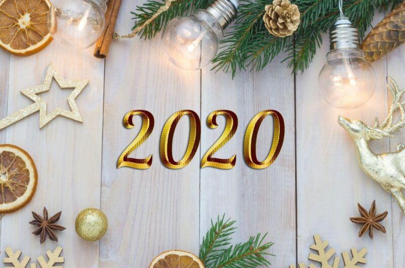 Поздравления с Новым Годом 2020! Красивые, короткие и прикольные пожелания в год Крысы (Мышки) этап 12