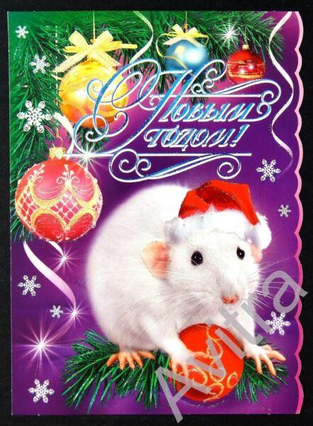 Поздравления с Новым Годом 2020! Красивые, короткие и прикольные пожелания в год Крысы (Мышки) этап 13