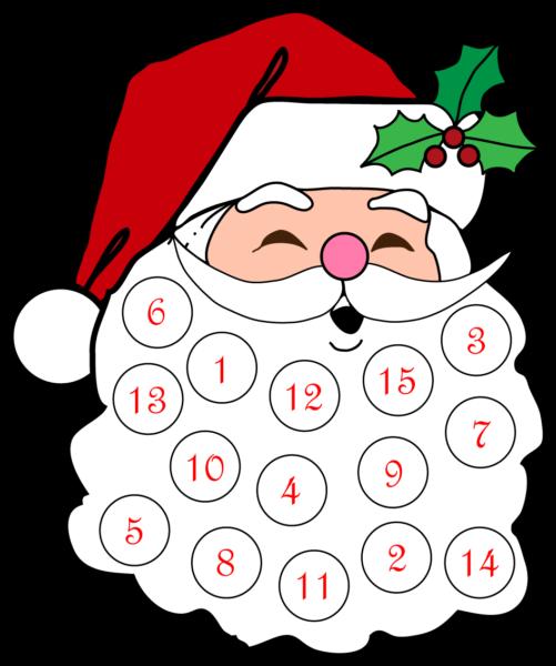 Адвент-календарь для детей к Новому году своими руками с шаблонами и заданиями, которые можно распечатать этап 59