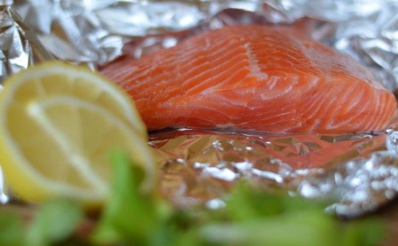 Слабосоленая семга — 7 рецептов соления семги в домашних условиях этап 23