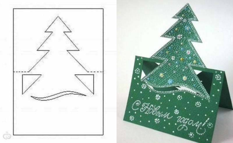 услугам новогодние открытки своими руками с шаблонами хотел раскрыть