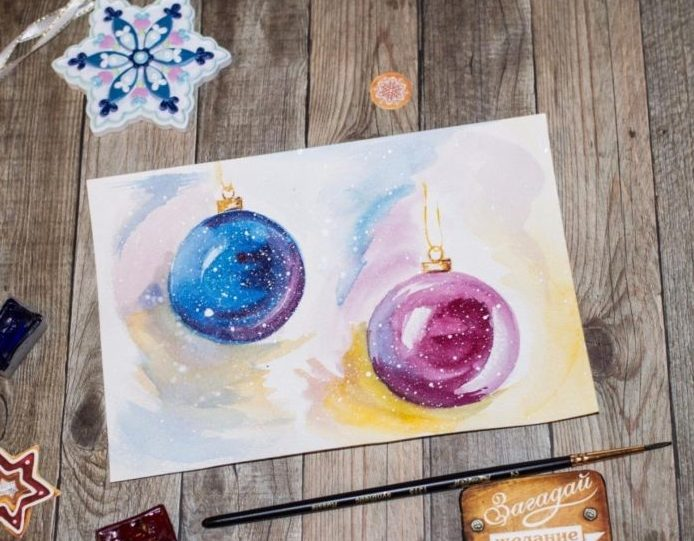 Новогодние открытки своими руками для детей: мастер-классы и шаблоны открыток на Новый год 2021 этап 148