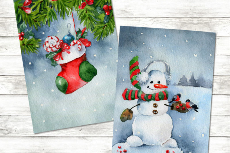 Новогодние открытки своими руками для детей: мастер-классы и шаблоны открыток на Новый год 2021 этап 145