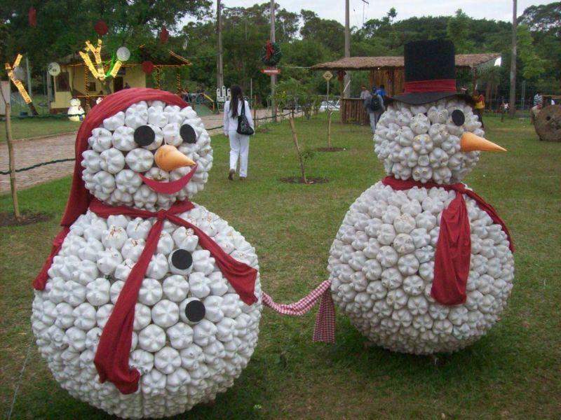 Снеговик своими руками на Новый год из подручных материалов этап 140
