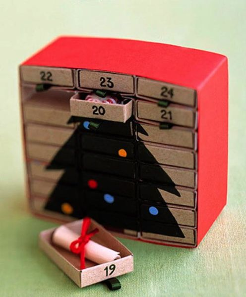 Адвент-календарь для детей к Новому году своими руками с шаблонами и заданиями, которые можно распечатать этап 30