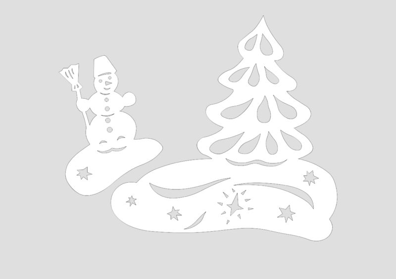Снеговик своими руками на Новый год из подручных материалов этап 100