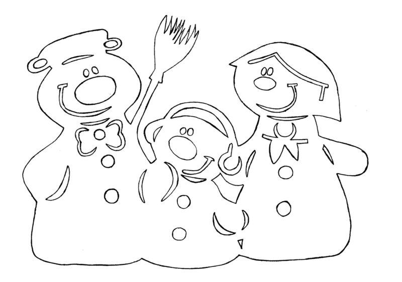 Снеговик своими руками на Новый год из подручных материалов этап 95