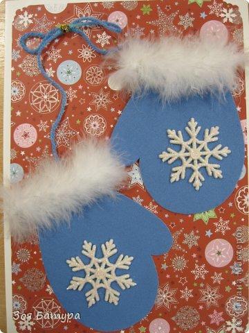 Новогодние открытки своими руками для детей: мастер-классы и шаблоны открыток на Новый год 2021 этап 105