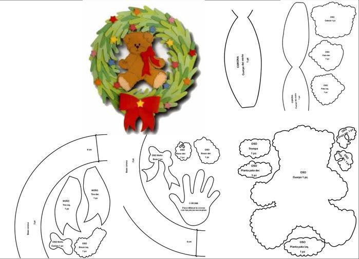 Новогодний венок своими руками. 12 мастер-классов по изготовлению венков в домашних условиях этап 85