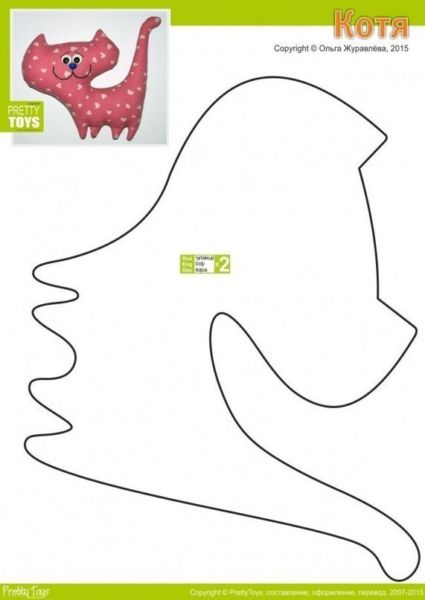 Игрушки из фетра своими руками — выкройки и шаблоны для начинающих этап 19